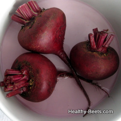 How to cook beets in microwave